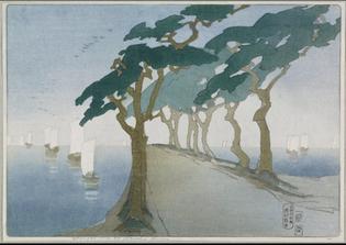 Pines by the Sea, 1912 | Bertha Lum