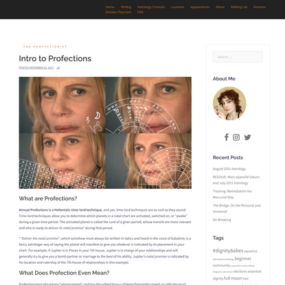Intro to Profections •