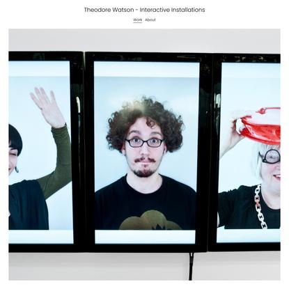 PORTRAIT MACHINE — Theodore Watson - Interactive Installations