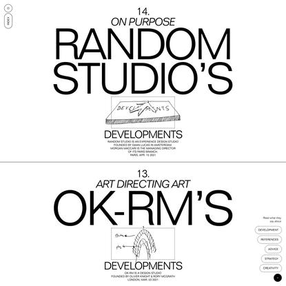 Developments
