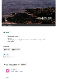 about the littoral zone