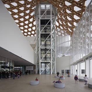 Centre Pompidou Metz interior