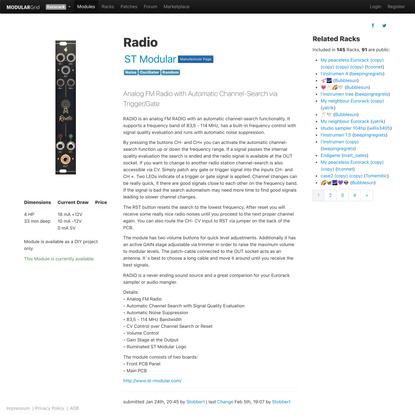 ST Modular Radio