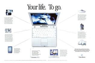 Apple iBook Magazine Ad (2001)
