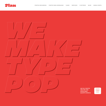 Plau - We make type pop