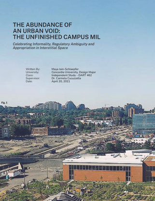 THE ABUNDANCE OF  AN URBAN VOID:  THE UNFINISHED CAMPUS MIL.pdf