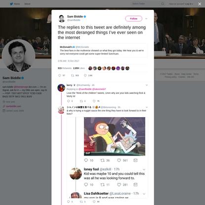 Sam Biddle on Twitter