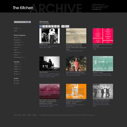 The Kitchen Archive