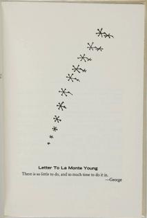 George Brecht + Robert Filliou - Games at the Cedilla (1967)