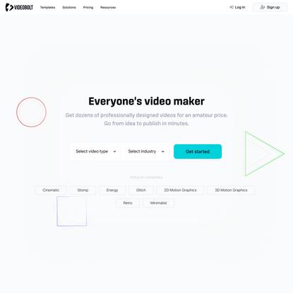 Video Maker - Videobolt.net