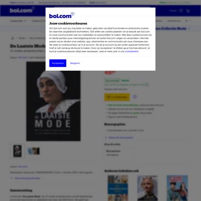De Laatste Mode, Pim Smit | 9789490892067 | Boeken | bol.com