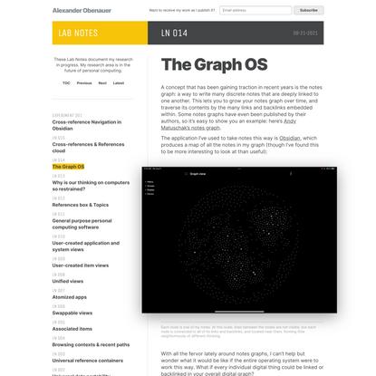 The Graph OS