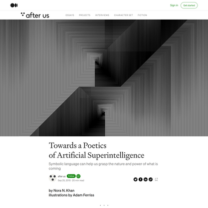 Towards a Poetics of Artificial Superintelligence