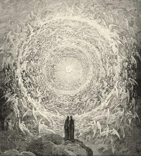 Gustave Doré, illustration to Paradiso, Canto XXXI, 1880.