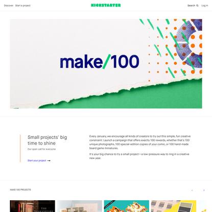 Make 100