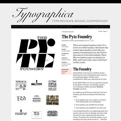 The Pyte Foundry