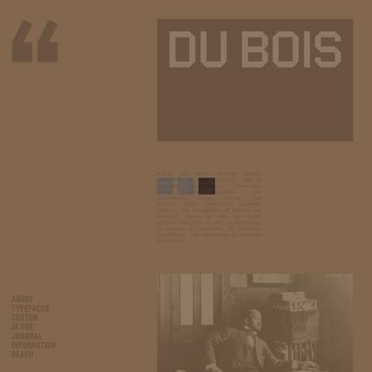 DU BOIS — VOCAL
