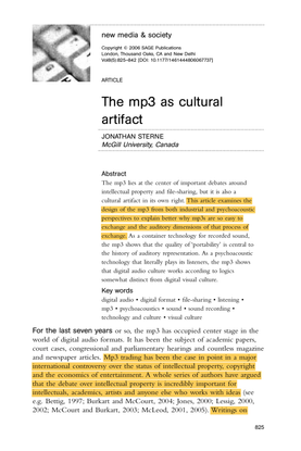 the-mp3-as-cultural-artifact.pdf