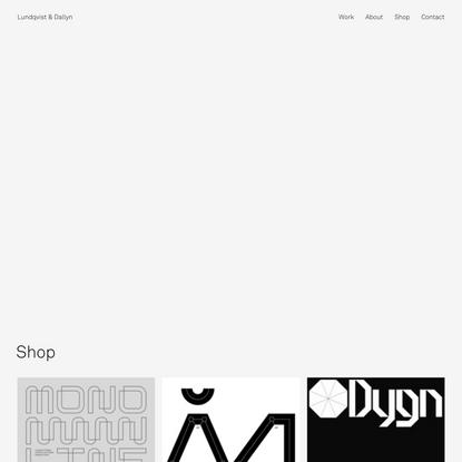 Shop - Lundqvist & Dallyn