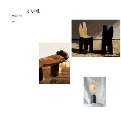 Minjae Kim | Design, Furniture & Sculpture