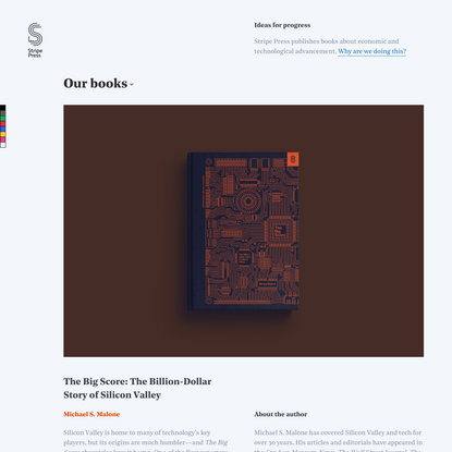 Stripe Press — Ideas for progress