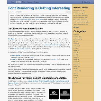 Font Rendering is Getting Interesting · Aras' website