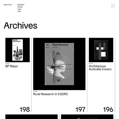 Re:collection | Archives