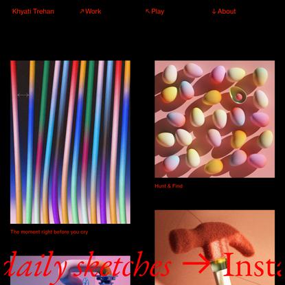 Play — Khyati Trehan