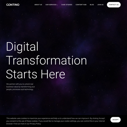 Contino   Global Transformation Consultancy