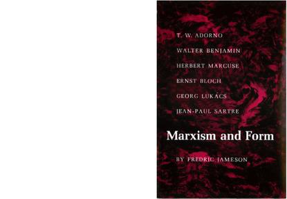 Jameson, Fredric_Marxism and Form (1971)