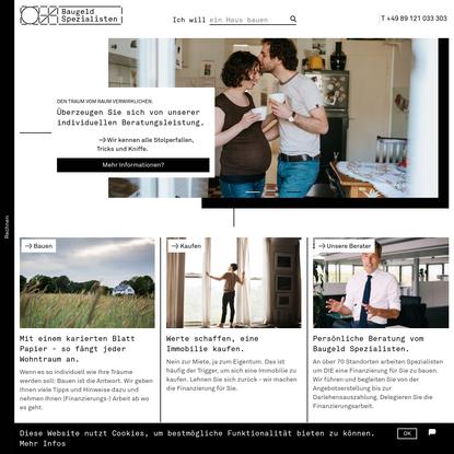 Home | Baugeld Spezialisten