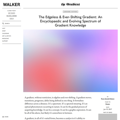 The Edgeless & Ever-Shifting Gradient: An Encyclopaedic and Evolving Spectrum of Gradient Knowledge