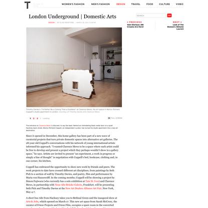 London Underground   Domestic Arts