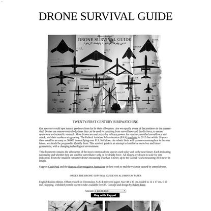Ruben Pater - Drone Survival Guide