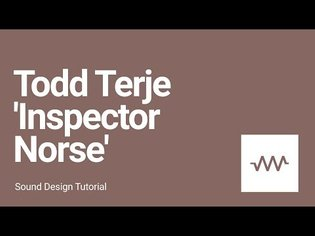 How to make the bass and laser sound for Todd Terje - 'Inspector Norse'