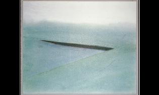 Vietnam Veterans Memorial, competition drawing, Maya Lin, 1980
