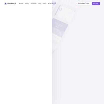 Untitled UI — Figma UI Kit and Design System