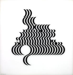 Bridget Riley, Untitled [Fragment 2/10], 1965