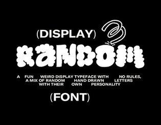 Random (font)