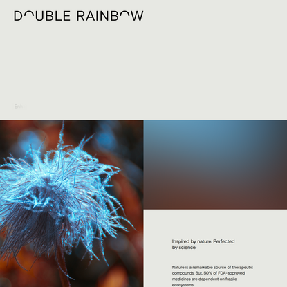 Double Rainbow Biosciences | Enhancing health. Sustaining our planet.