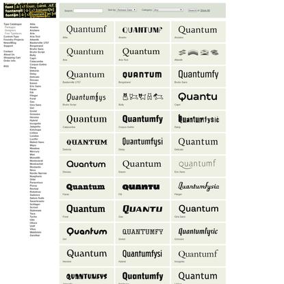 Typefaces | Fountain