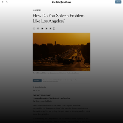 How Do You Solve a Problem Like Los Angeles?