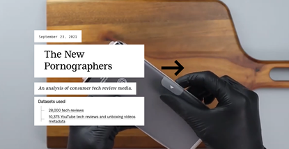 The New Pornographers - An analysis of consumer tech review media