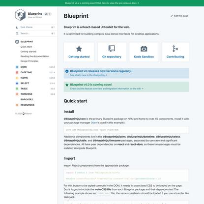 Blueprint – Documentation