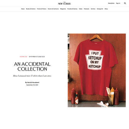 An Accidental Collection | The New Yorker