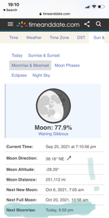 we could watch moon times too