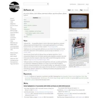 Software art - Monoskop