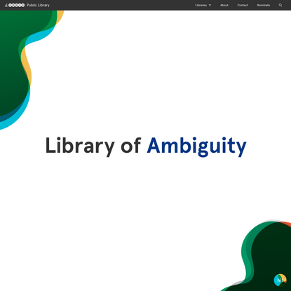 Library of Ambiguity