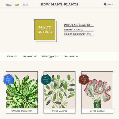 Plant Guides