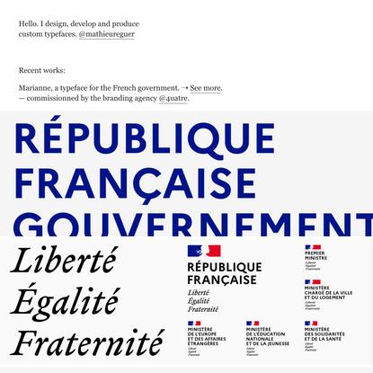 Mathieu Réguer | Recent Works